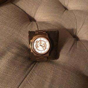 Michael Kors Accessories - Gold Run Way Micheal Kors watch